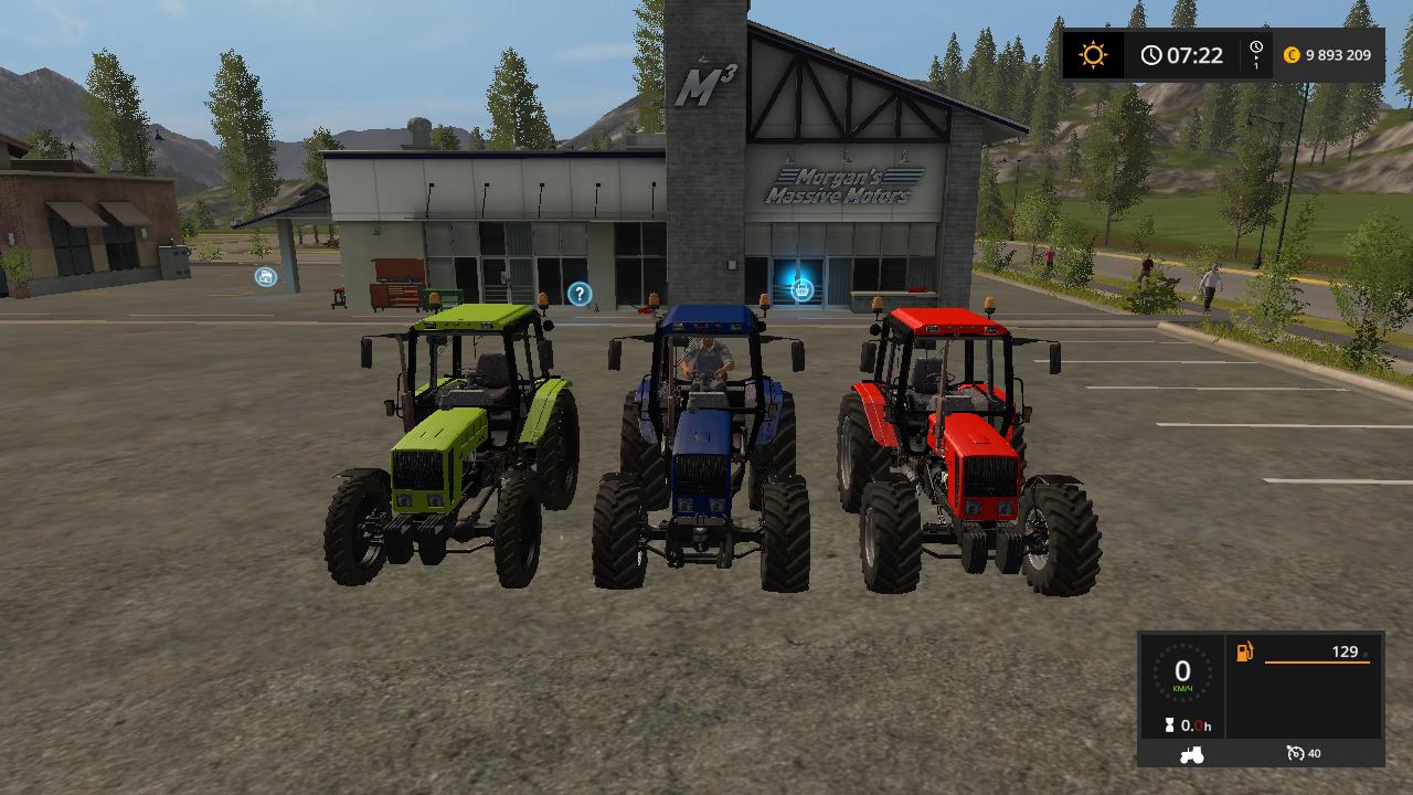 BELARUS 826 V1.0 - Farming Simulator 17 Мод, Транспорт