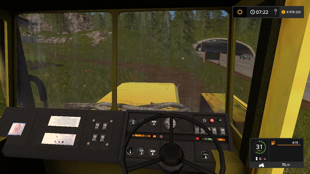 К-702 - Farming Simulator 17 Мод, Транспорт