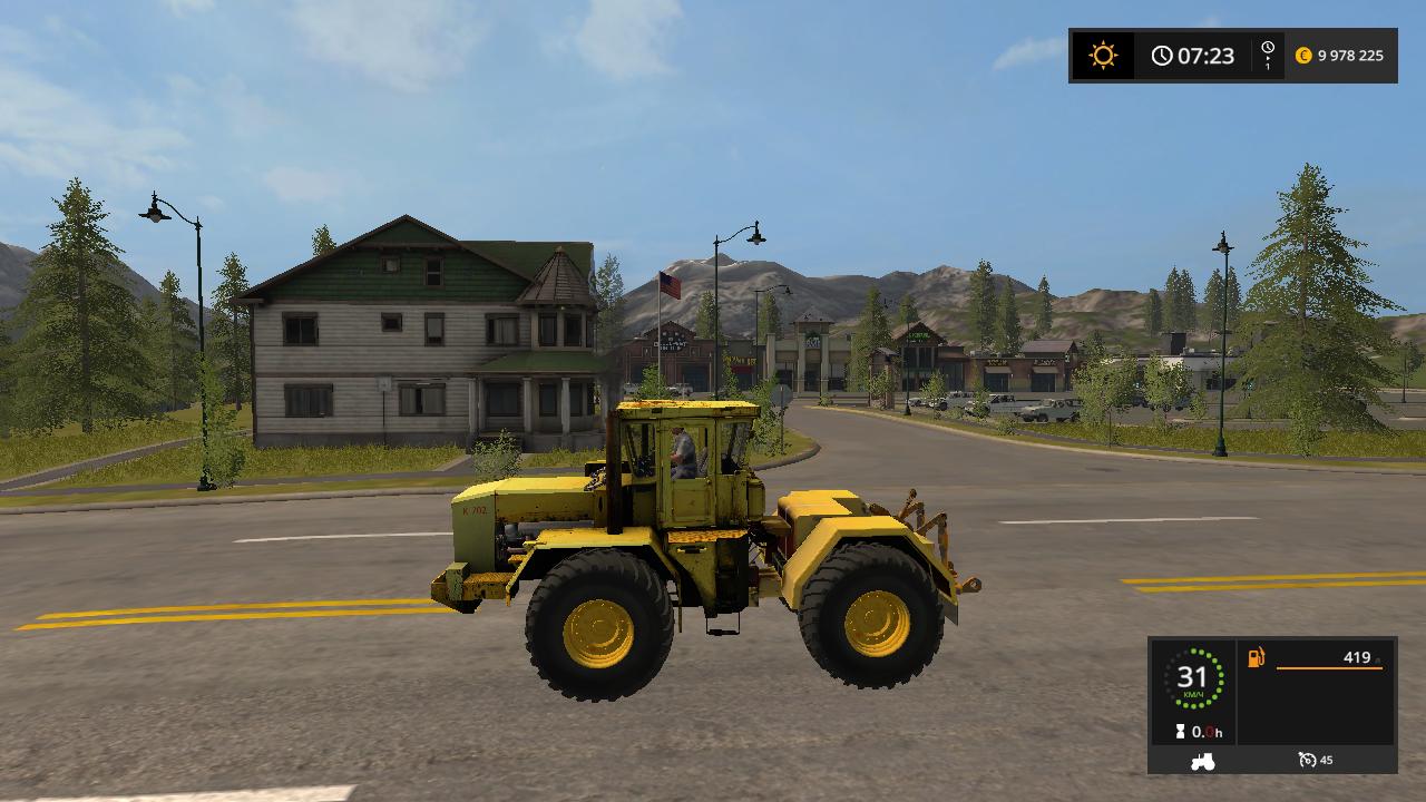 К-702 - Farming Simulator 17 Моды, Транспорт