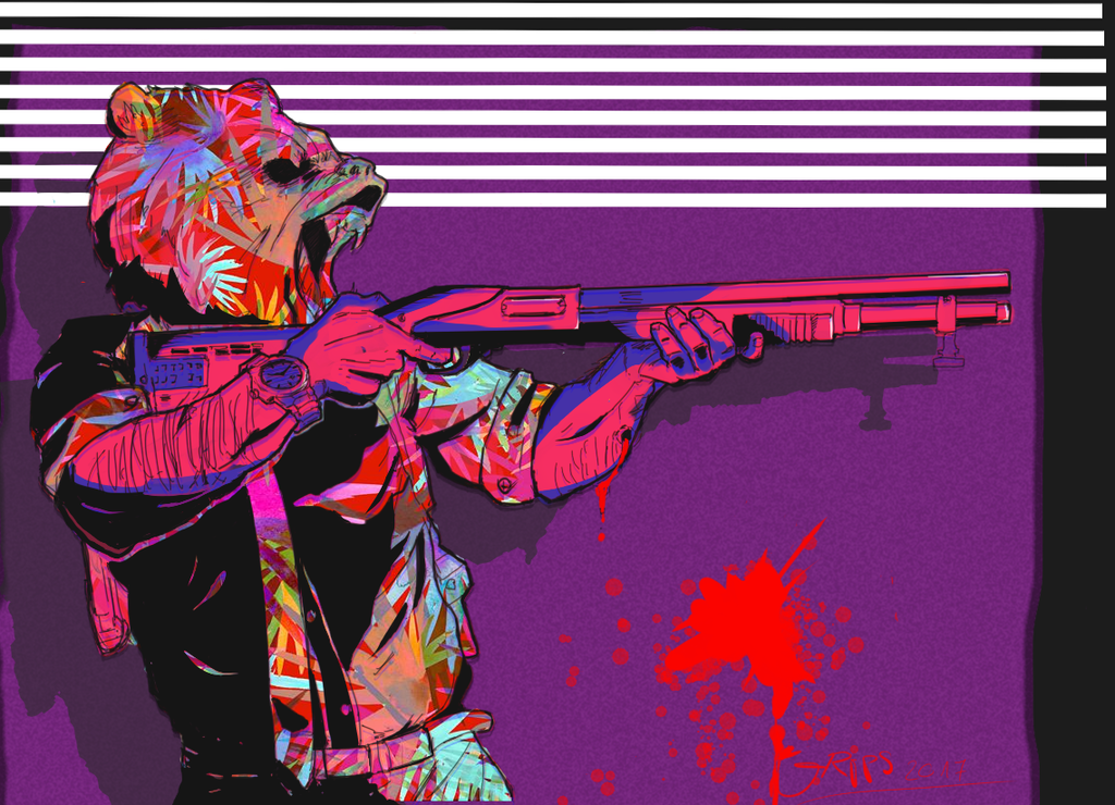 Art - Hotline Miami 2: Wrong Number Арт