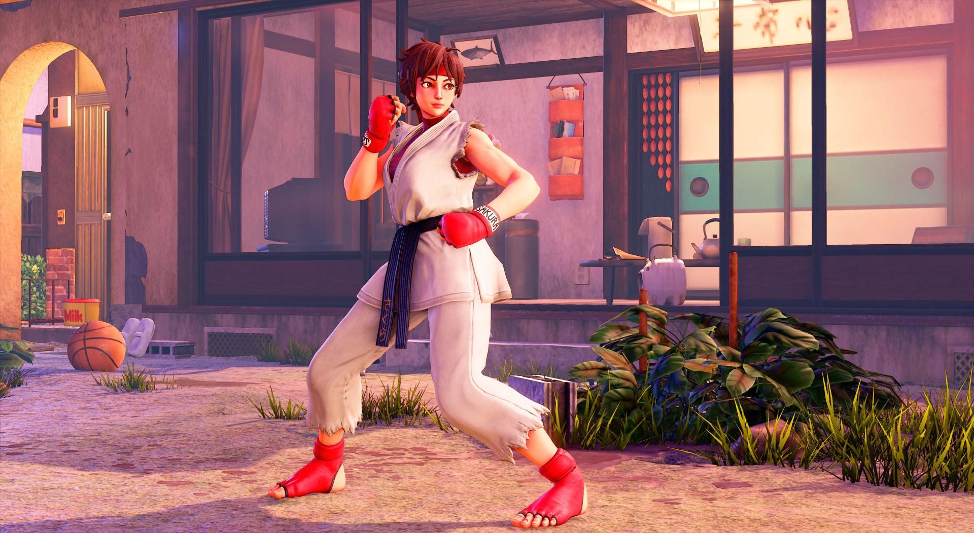 Street Fighter 5 - Sakura - Street Fighter 5 Скриншот