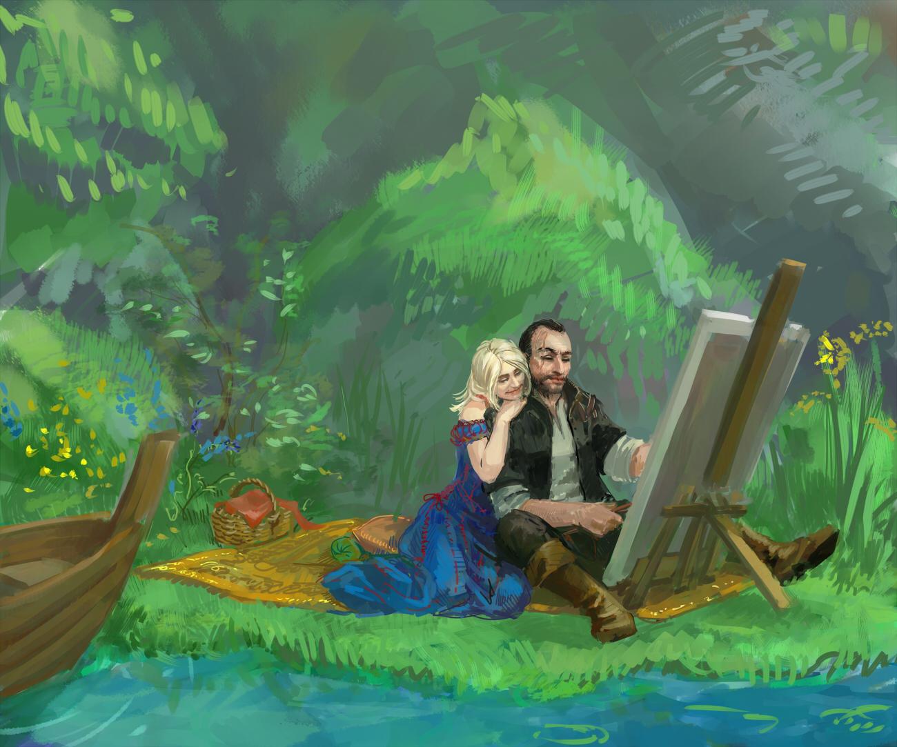 Милота - Witcher 3: Wild Hunt, the