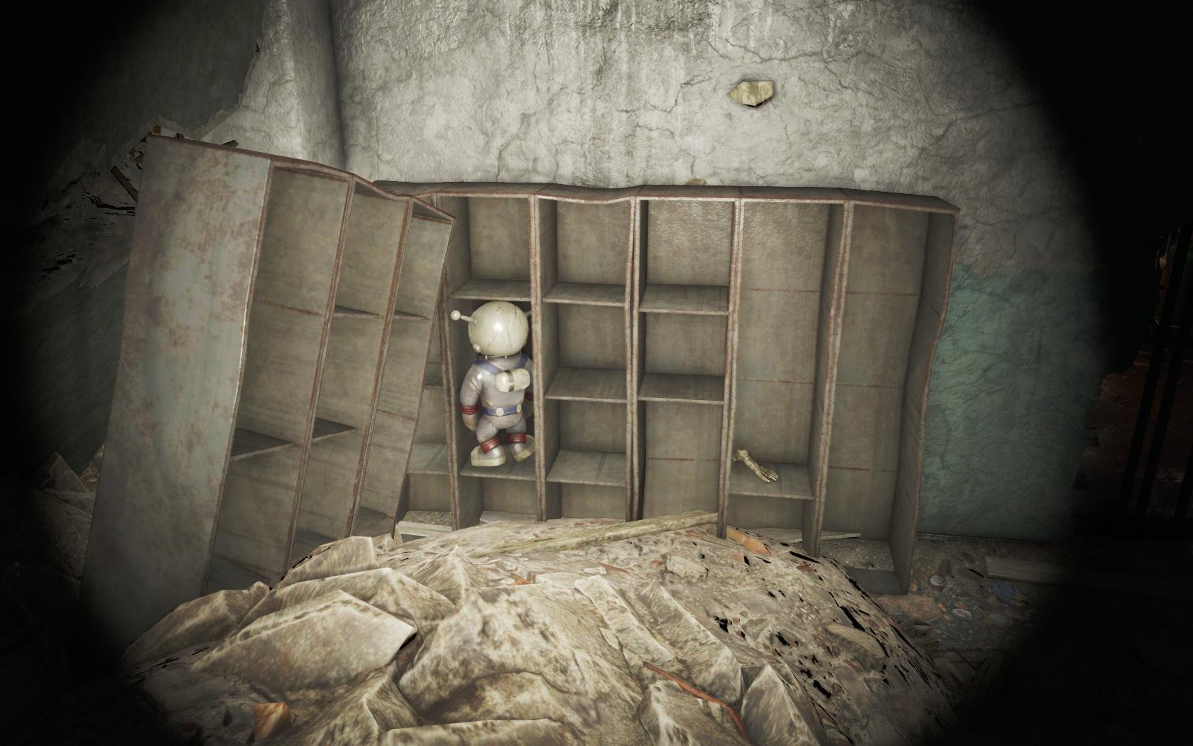 Больше не может смотреть на этот мир (Политехническая школа Центрального Бостона) - Fallout 4 Бостон, Лунная, мартышка, Политехническая школа Центрального Бостона, Центральный Бостон, школа