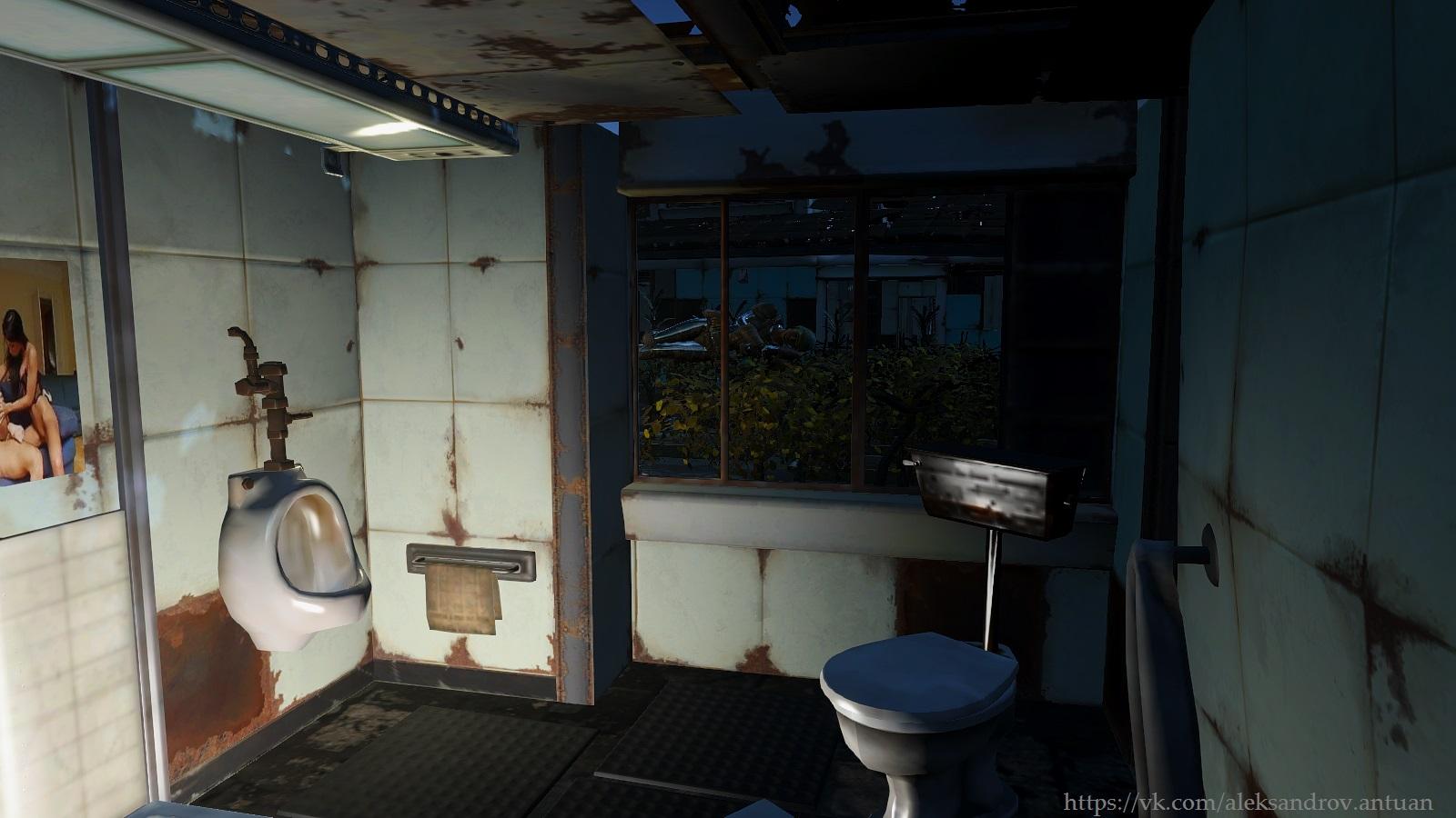 ... а за окном, парила женщина. Парила спя. - Fallout 4 CWSS redux, Уэст-Эверетт