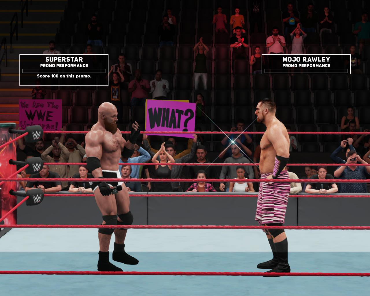 Собственный (ГОЛДБЕРГ) - WWE 2K18