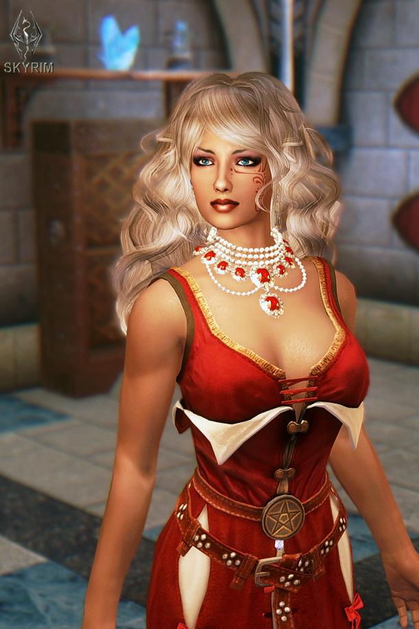 781. Дома, Высокий Шпиль.jpg - Elder Scrolls 5: Skyrim, the CBBE, Сборка-21