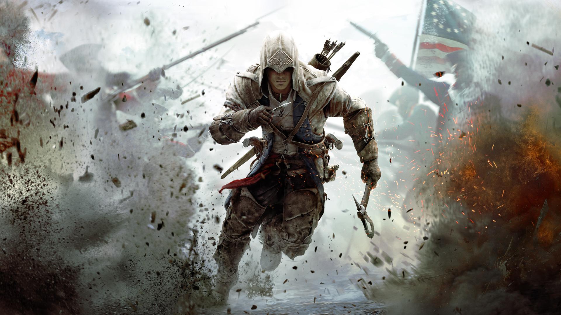 Обои из Uplay - Assassin's Creed 3