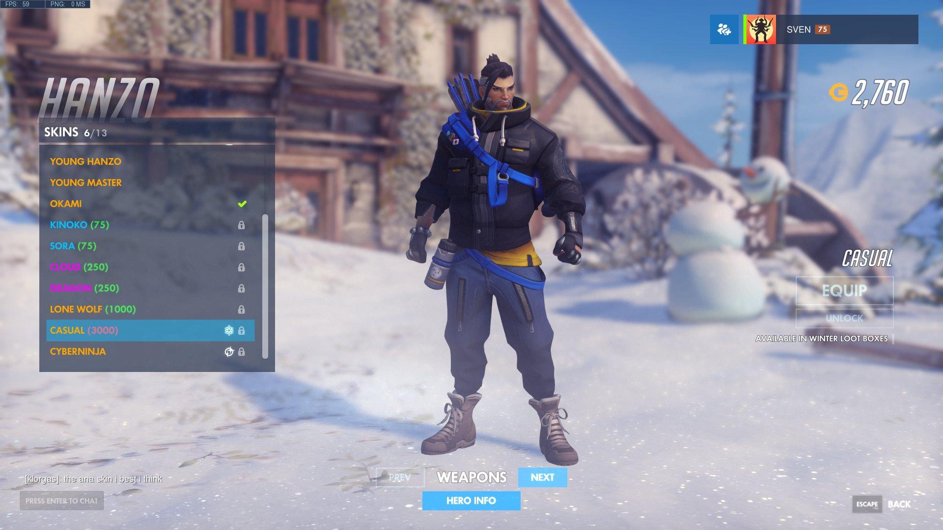 Overwatch - Winter Wonderland 2017 - Overwatch