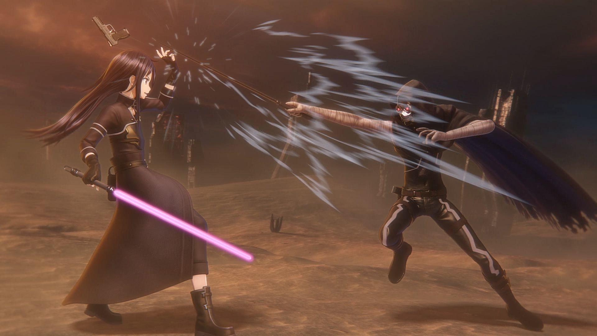 Sword Art Online: Fatal Bullet - Sword Art Online: Fatal Bullet Скриншот