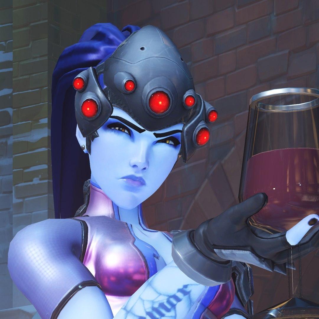 9GWrzu2DV9o.jpg - Overwatch Fatal Widow, Арт