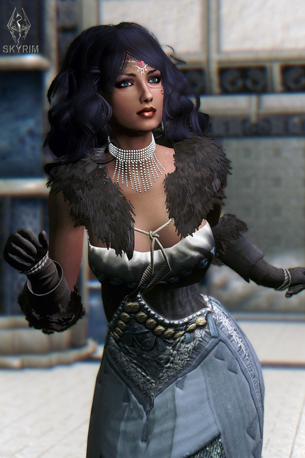 795. Алисса в люксе.jpg - Elder Scrolls 5: Skyrim, the CBBE, Сборка-21