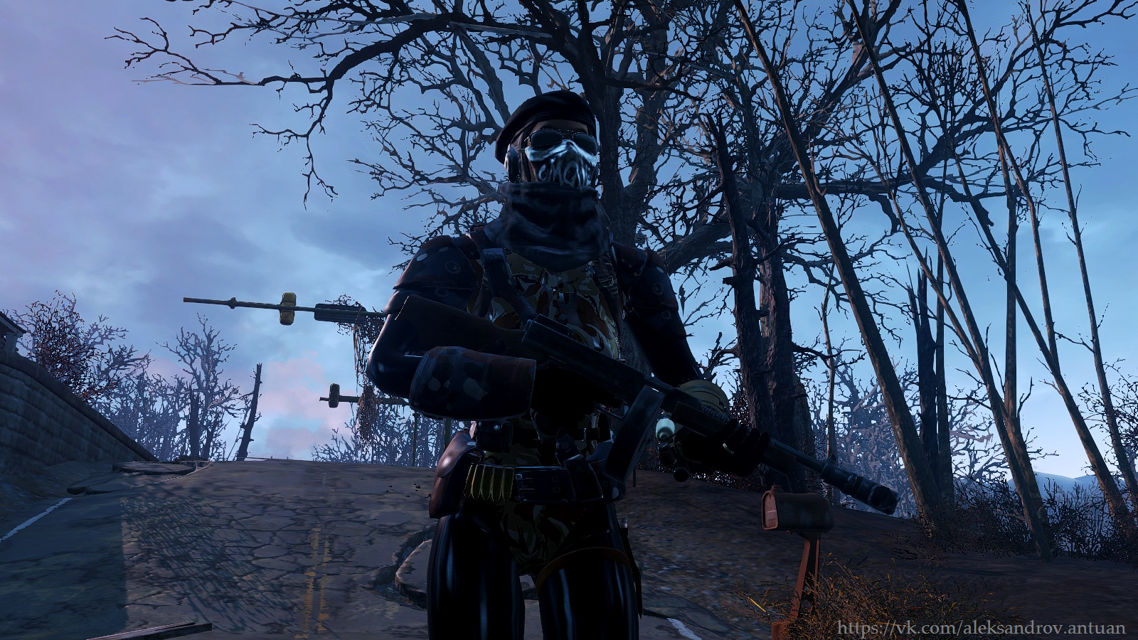 ГГсса с Томпсоном ... - Fallout 4 пистолет-пулемёт, Томпсон