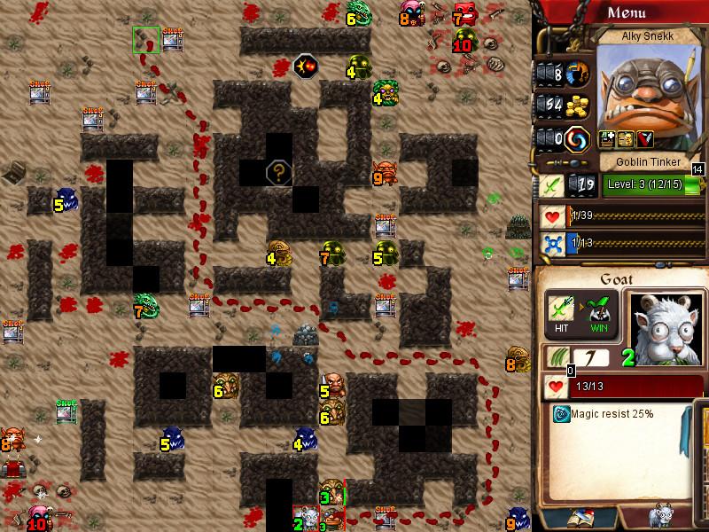 - - Desktop Dungeons