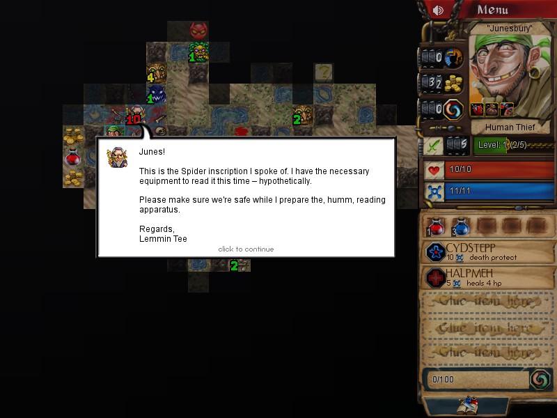 - - Desktop Dungeons Скриншот