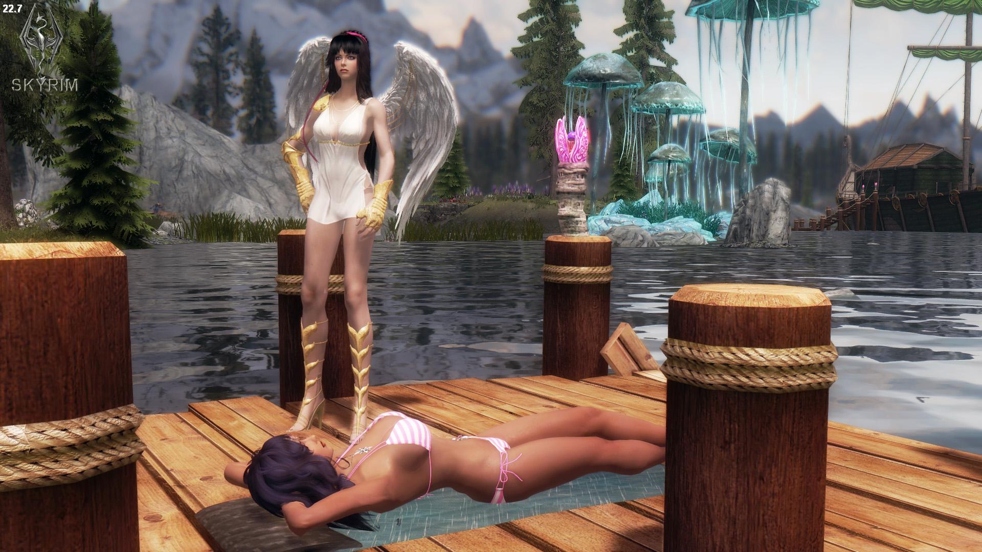 798. Селена, ангел-хранитель.jpg - Elder Scrolls 5: Skyrim, the CBBE, Сборка-21