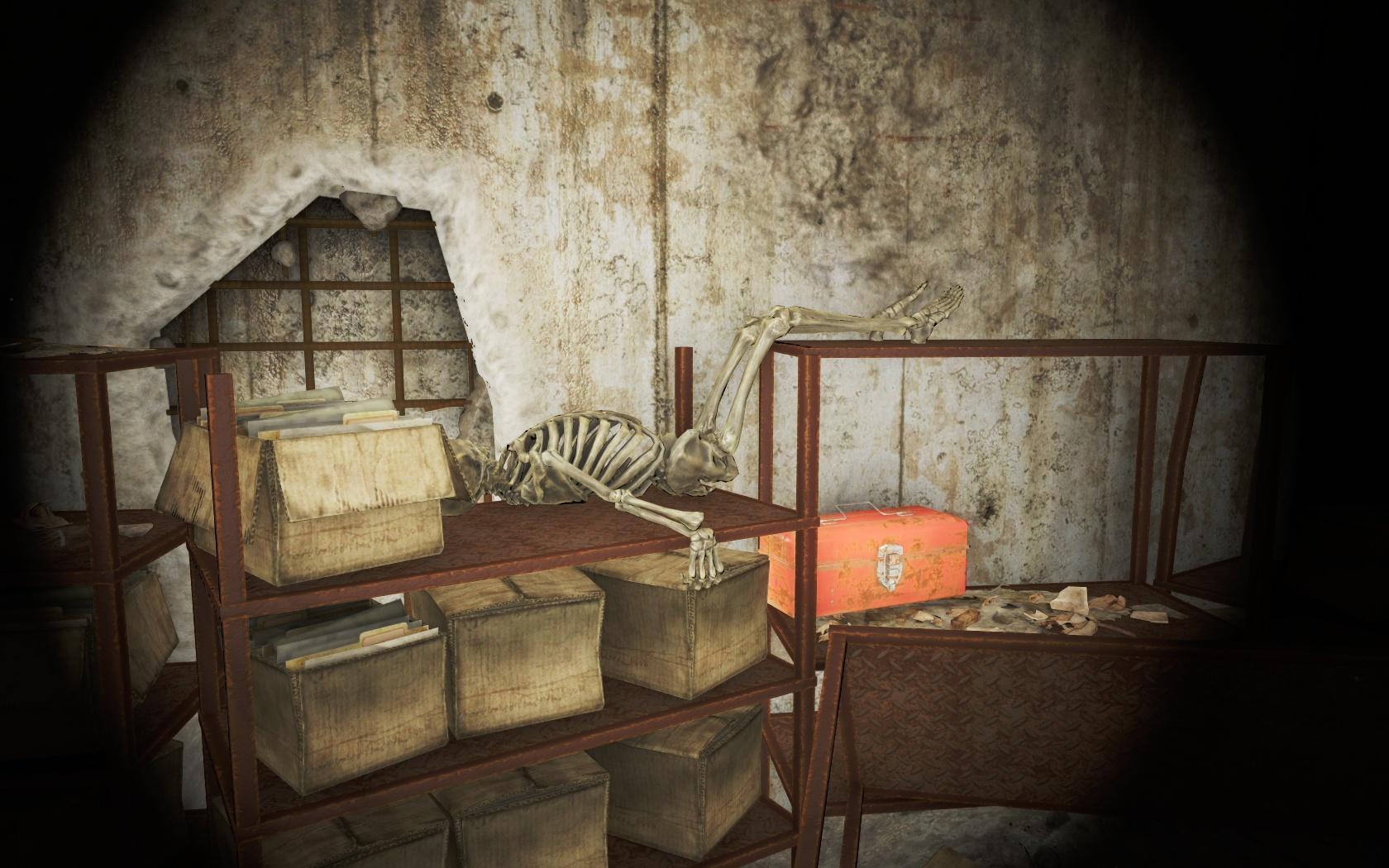 Шикарное место для сна (Хьюбрис Комикс) - Fallout 4 Комикс, скелет, Хьюбрис, Хьюбрис Комикс