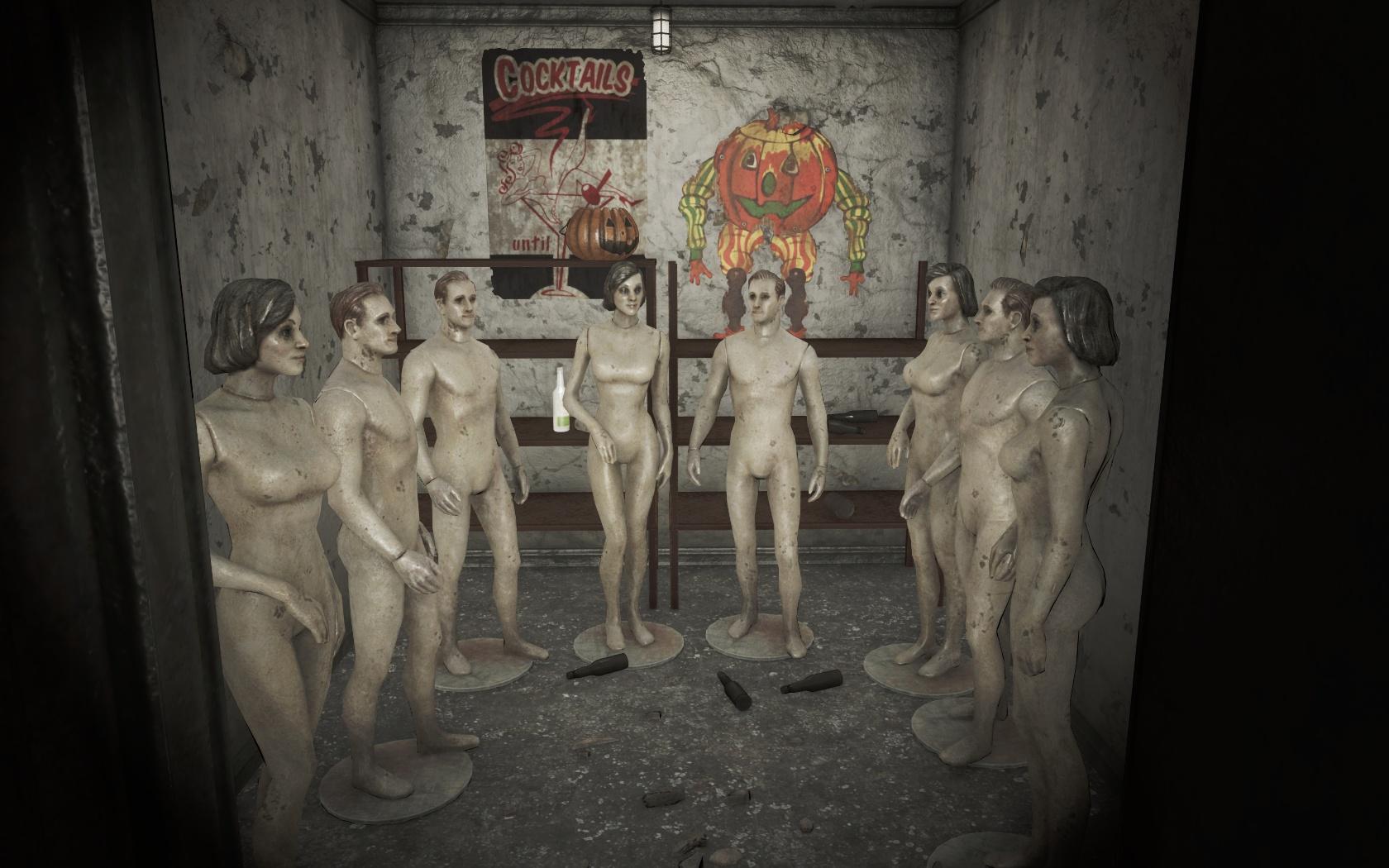 Корпоративчик в самом разгаре (Психиатрическая больница Парсонс) - Fallout 4 больница, манекен, Парсонс, Психиатрическая больница Парсонс