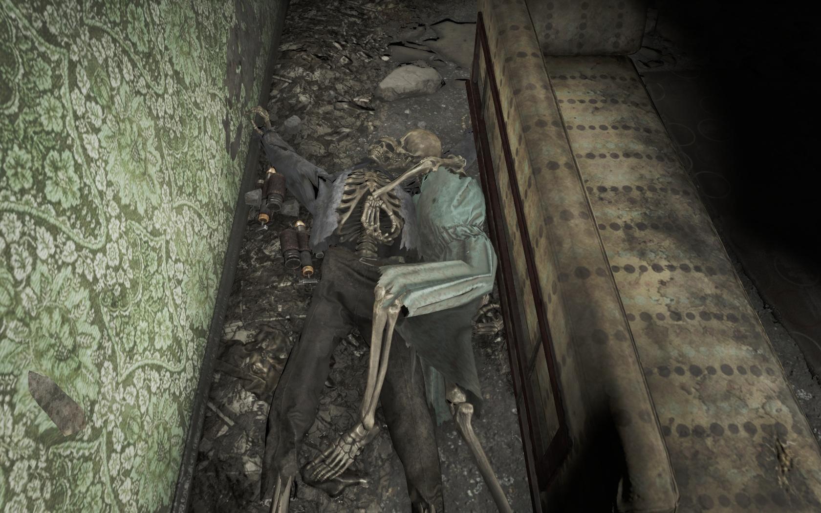 Парочка с большим запасом Психо (Психиатрическая больница Парсонс).jpg - Fallout 4 больница, Парсонс, Психиатрическая больница Парсонс, психо