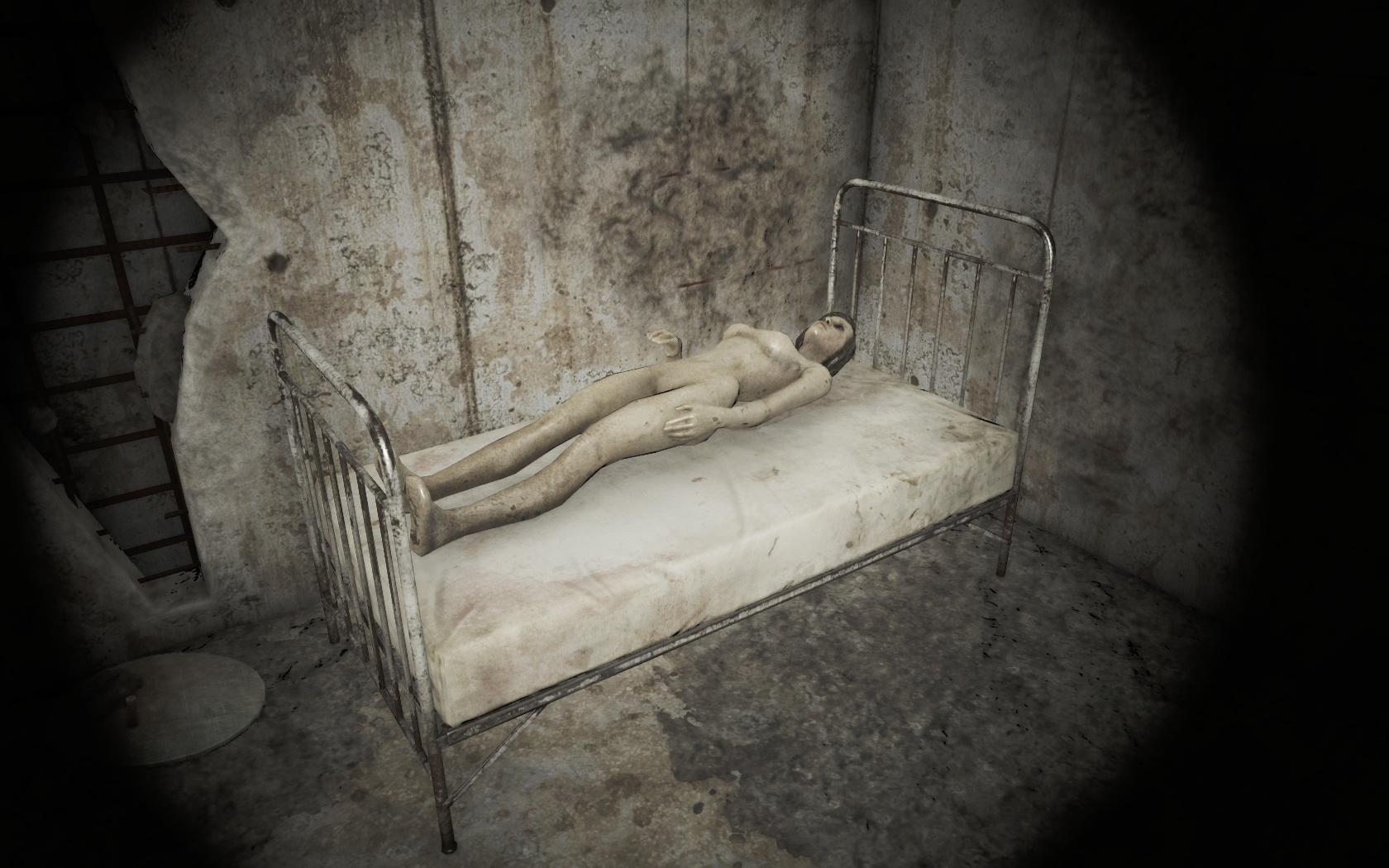 Положили подлечить (Психиатрическая больница Парсонс) - Fallout 4 больница, манекен, Парсонс, Психиатрическая больница Парсонс