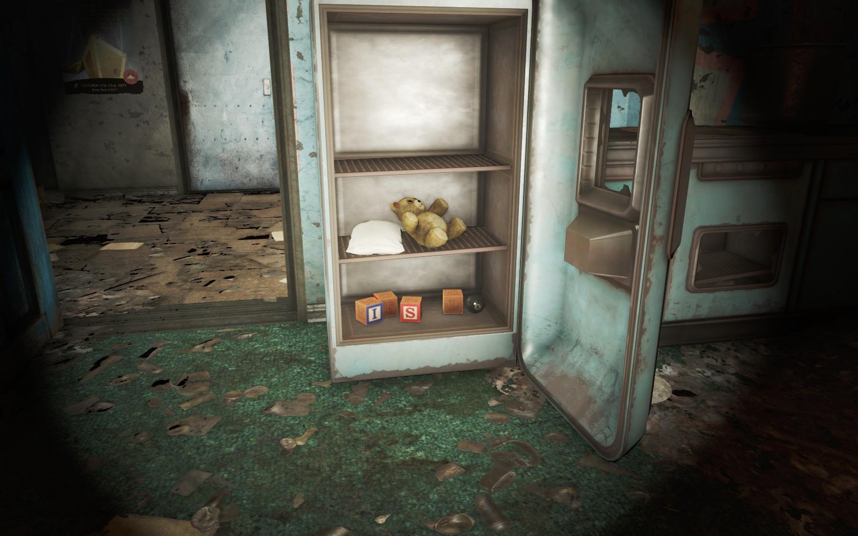 Мишка (Жилой дом у Рухнувшего перехода) - Fallout 4 Жилой дом, Рухнувший переход