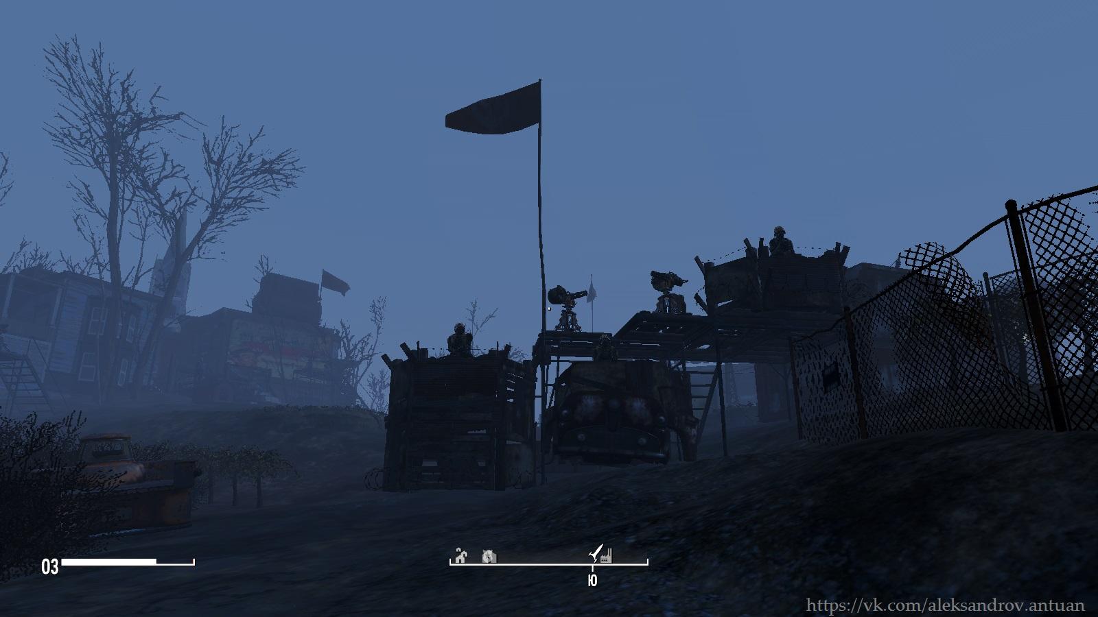 Красная ракета ... Квинси. - Fallout 4 Квинси