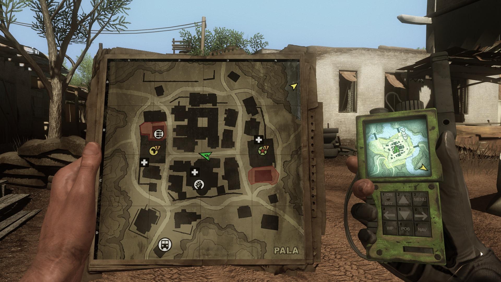 Переход по заданию - Far Cry 2