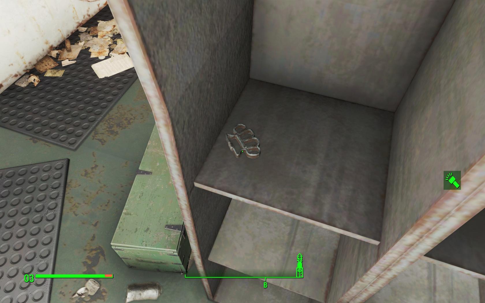 Недоступный кастет (подлодка Янцзы) - Fallout 4 Баг, Недоступный, подлодка, подлодка Янцзы, Янцзы