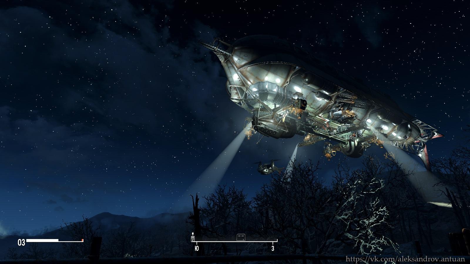 """Прибытие """"Придвена"""" в Содружество. 002 - Fallout 4 Придвен, Форт Хаген"""