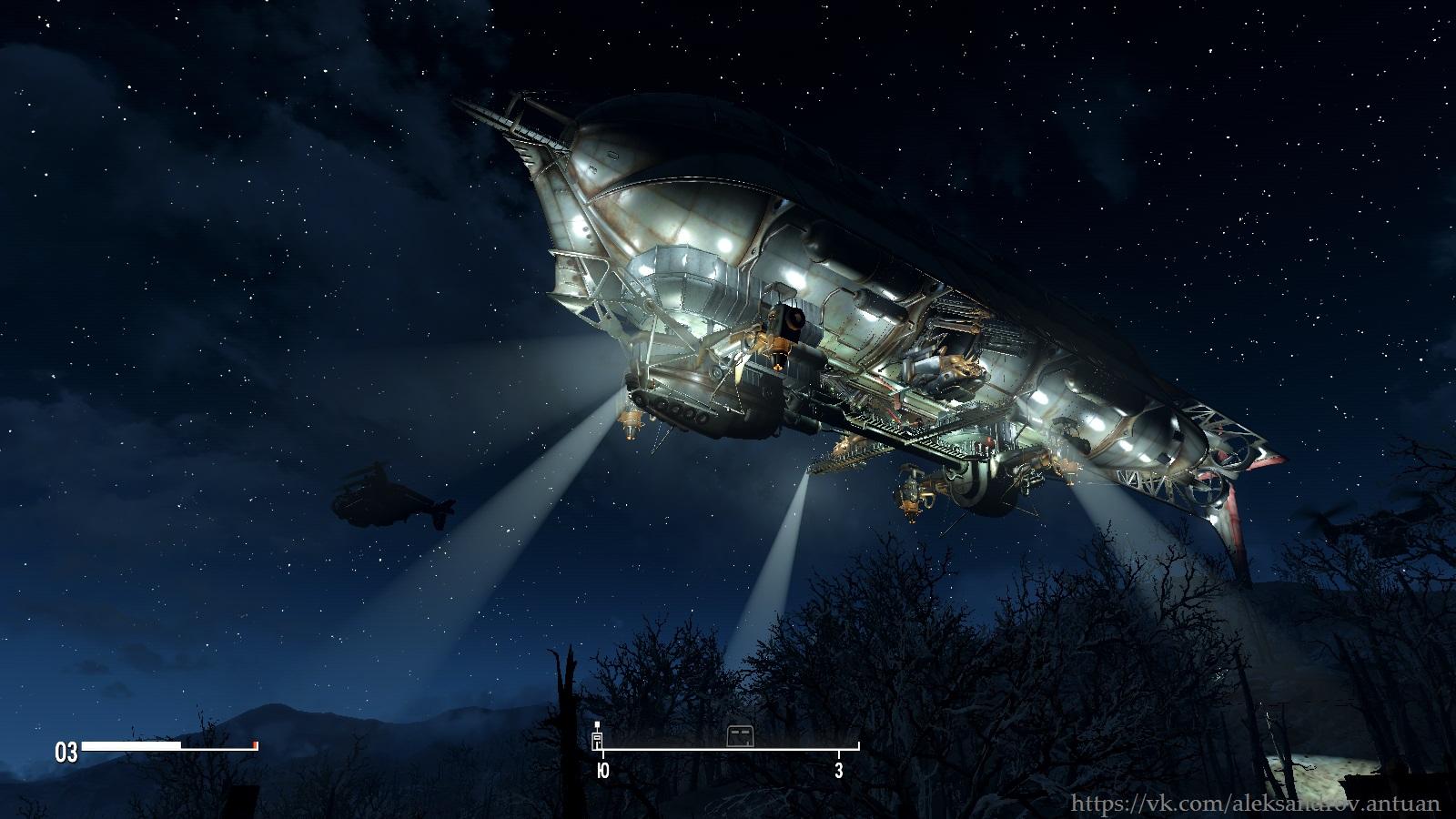 """Прибытие """"Придвена"""" в Содружество. 001 - Fallout 4 Придвен, Форт Хаген"""