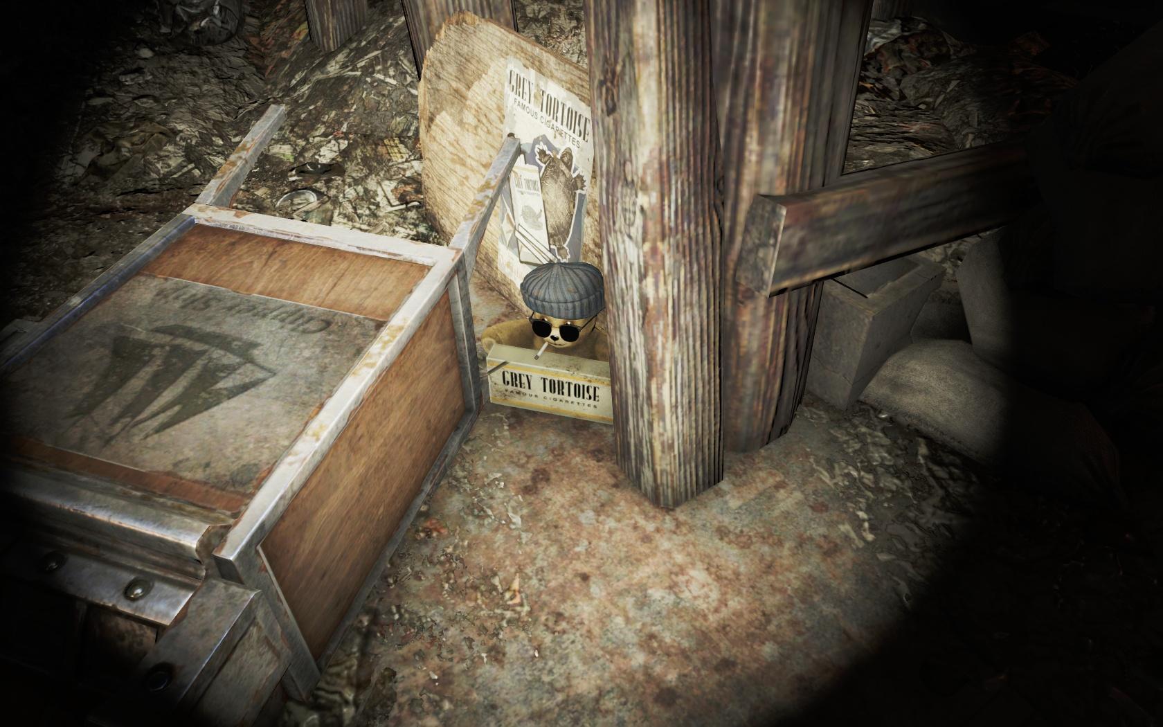 Ништяковый мишка (Спутниковая антенна базы Форт-Хаген) - Fallout 4 антенна, Спутниковая антенна базы Форт-Хаген, Форт-Хаген