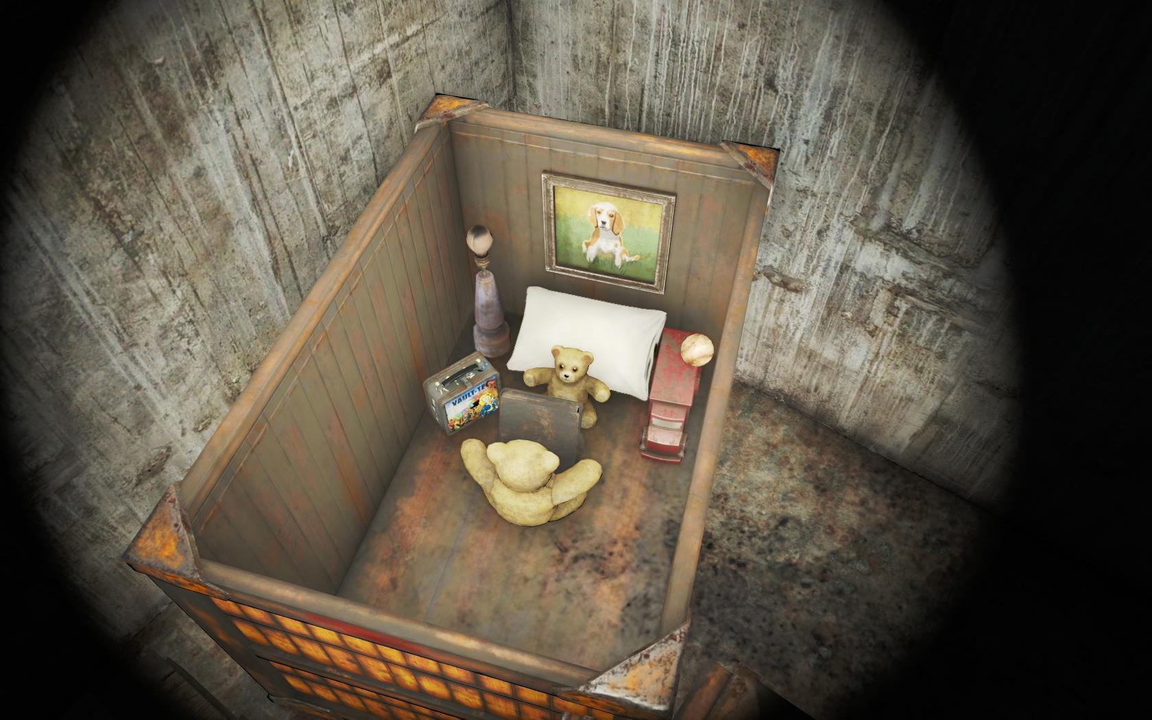 Семейная идиллия (Спутниковая антенна базы Форт-Хаген) v2 - Fallout 4 антенна, Спутниковая антенна базы Форт-Хаген, Форт-Хаген