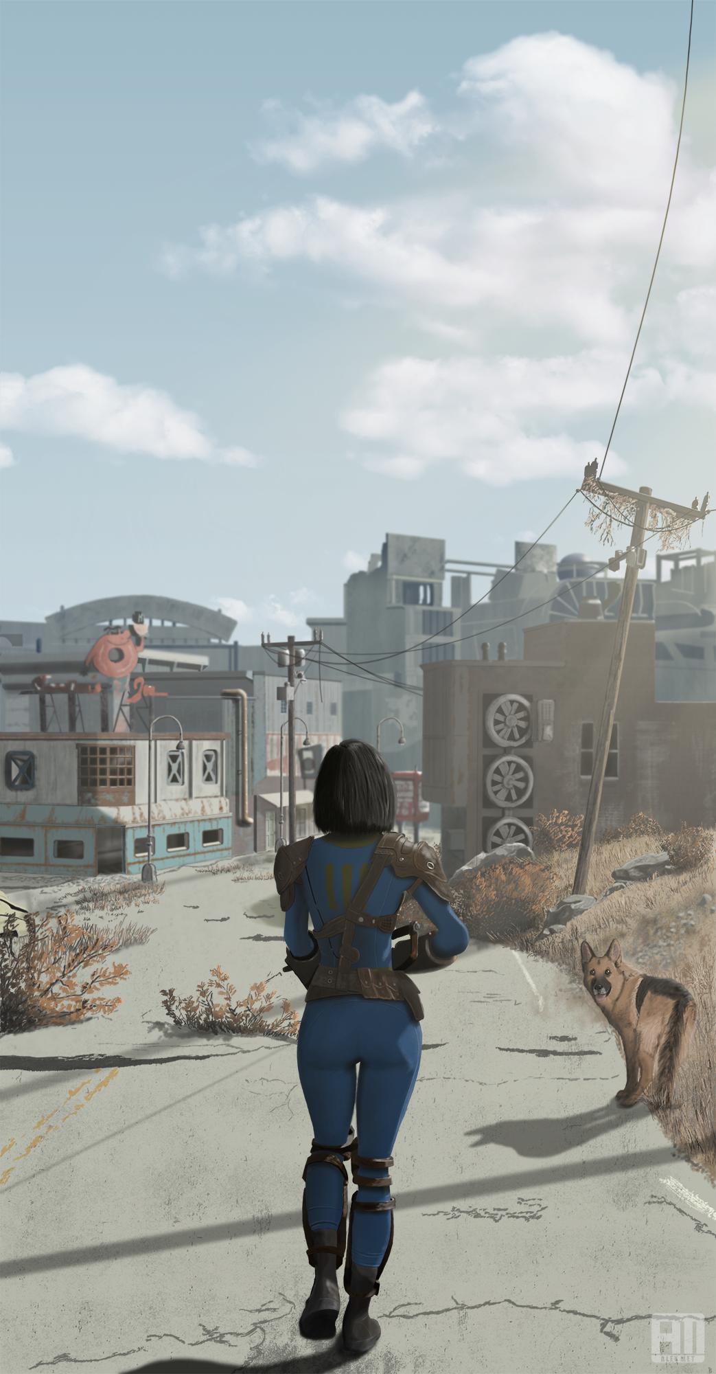 Sole Survivor - Fallout 4 арт