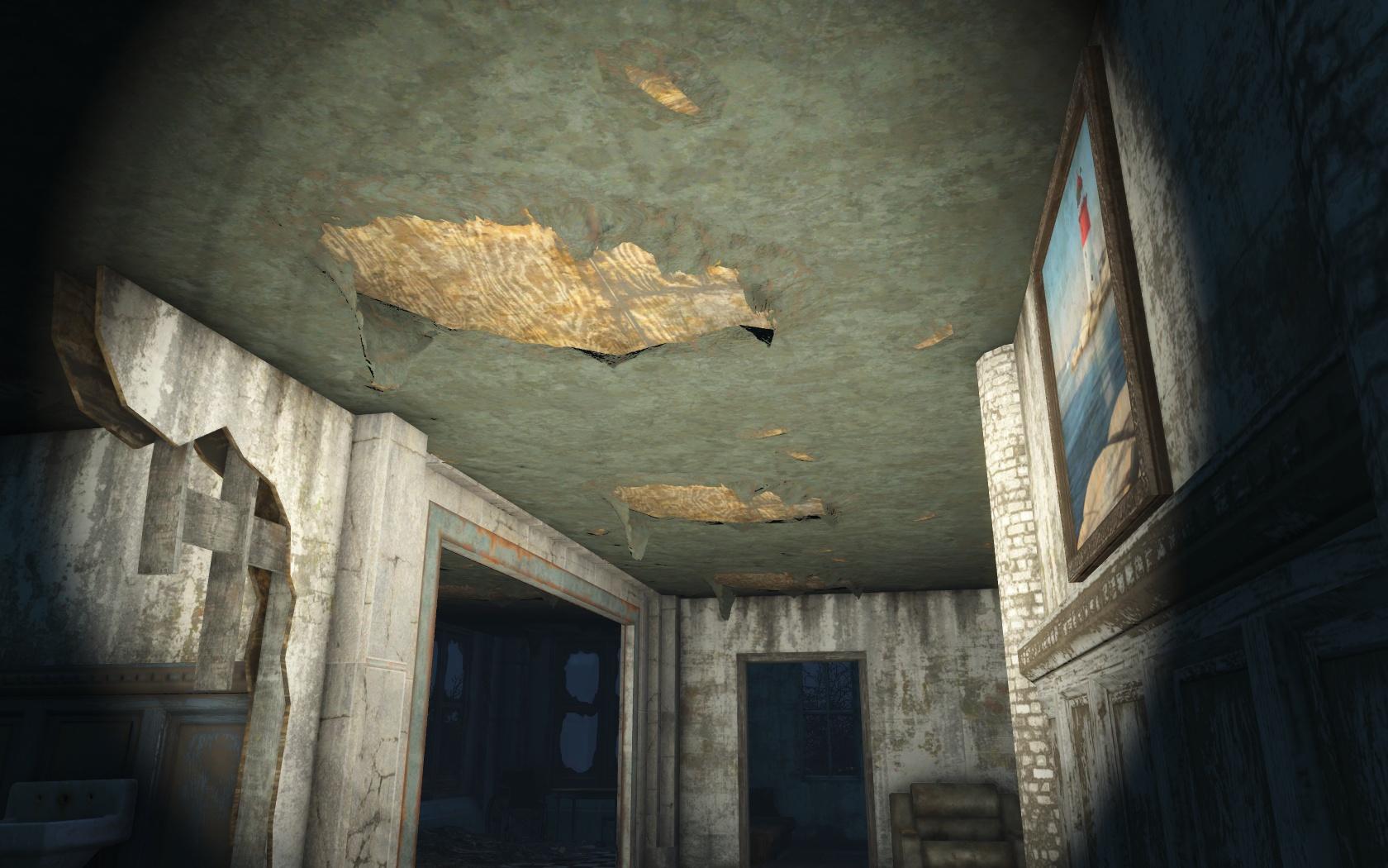 Текстура - Fallout 4 Таинственны сосны, текстура