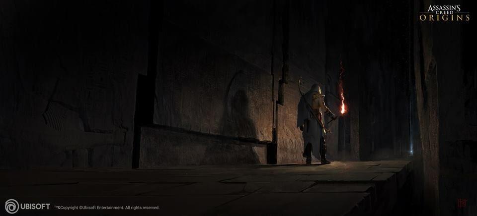 Assassin's Creed: Origins - Концепт-арты - Assassin's Creed: Origins Арт