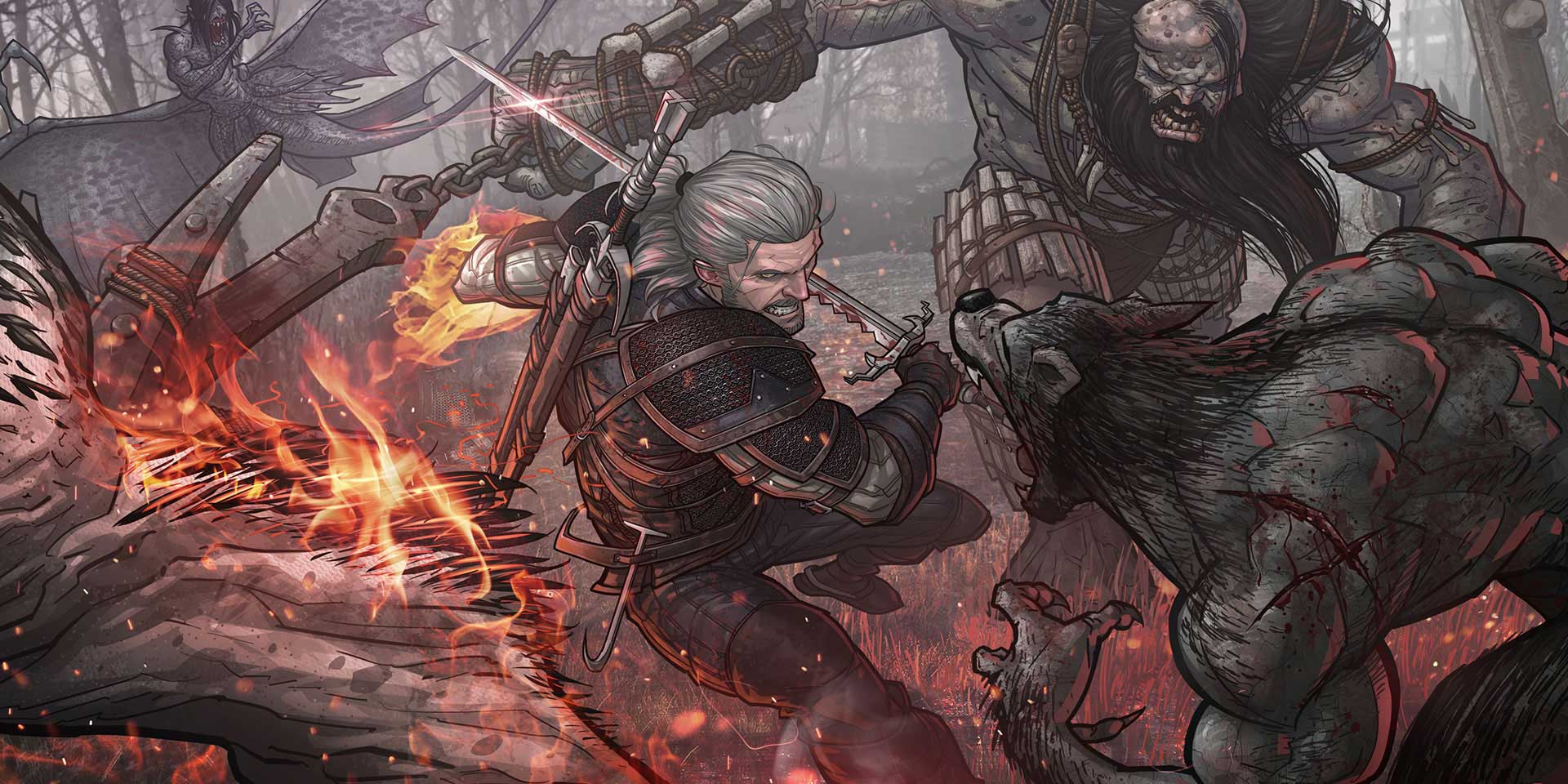 Комикс - Witcher 3: Wild Hunt, the