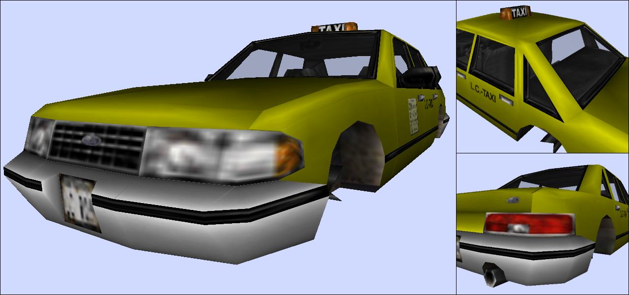 Вырезанная текстура - Grand Theft Auto 3