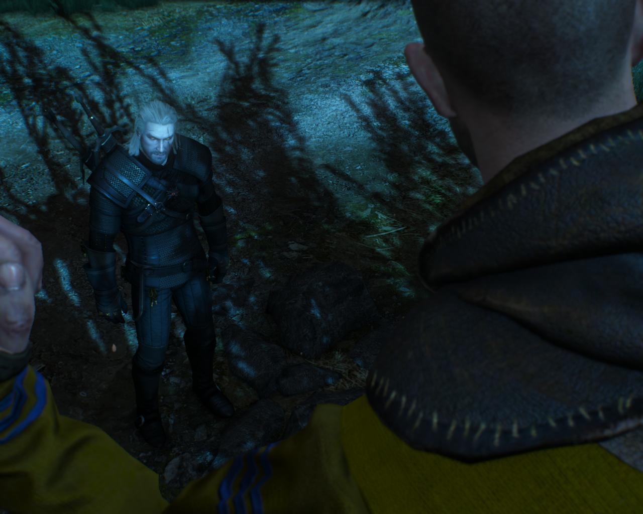 скрины геральта - Witcher 3: Wild Hunt, the про ведьмака