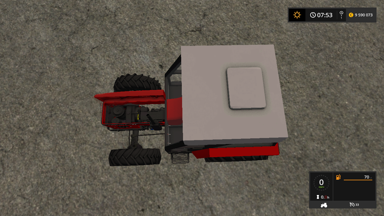 ZETOR 5254 V 1.0 - Farming Simulator 17 Мод, Транспорт