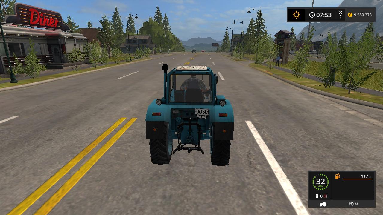 МТЗ-80_С - Farming Simulator 17 Мод, Транспорт