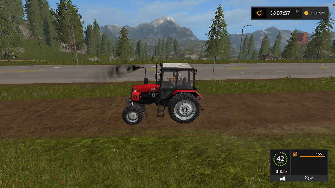 MTZ_szoghidas_pack - Farming Simulator 17 Мод, Транспорт