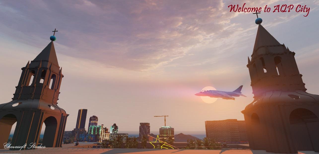 Самолёт - AQP City Скриншот