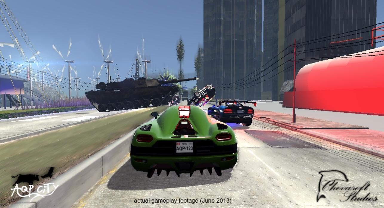 Автомобиль - AQP City Скриншот