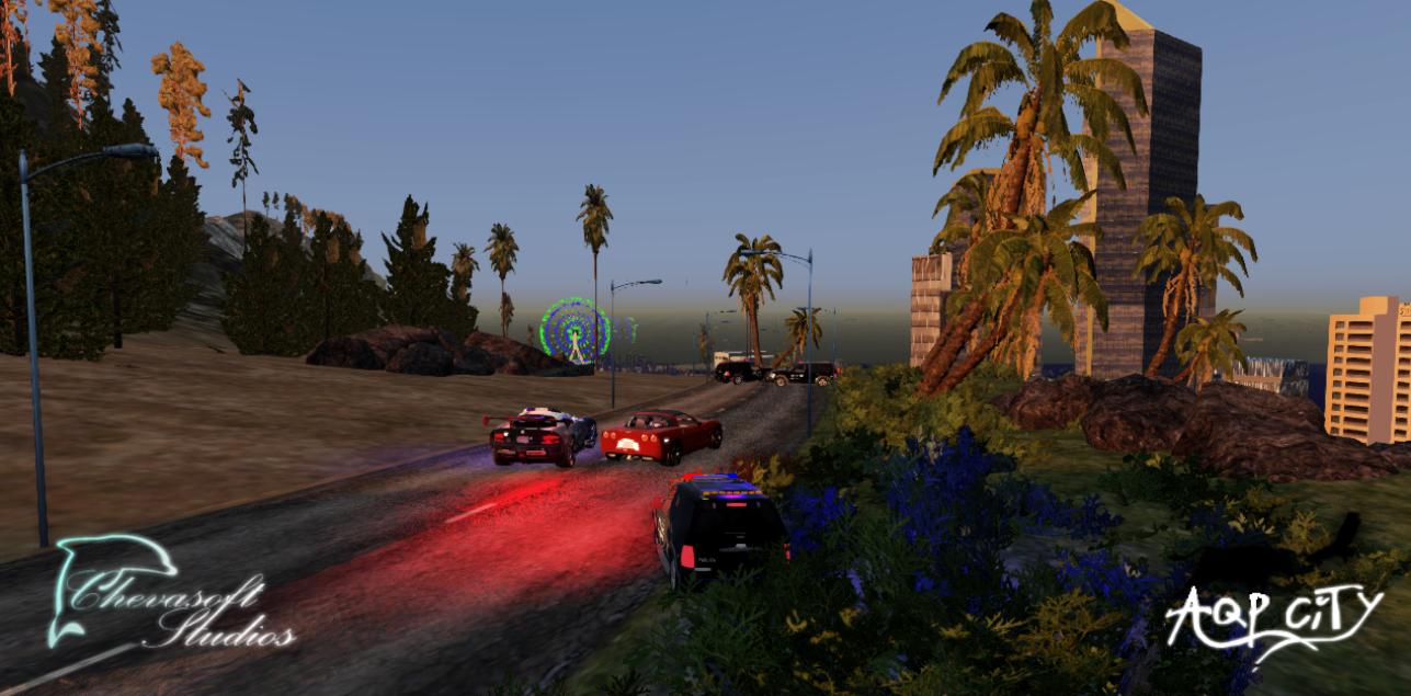 Погоня - AQP City Скриншот