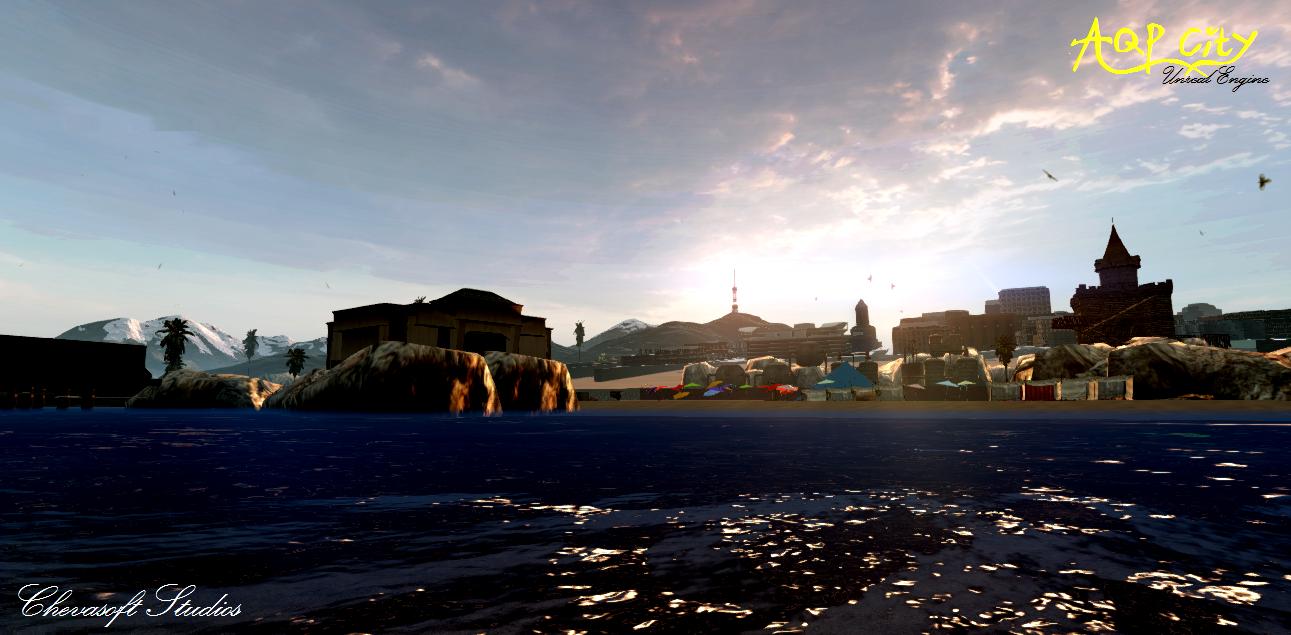 Пляж - AQP City Скриншот