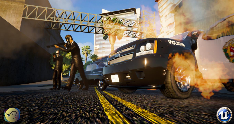 Полиция - AQP City Стрельба