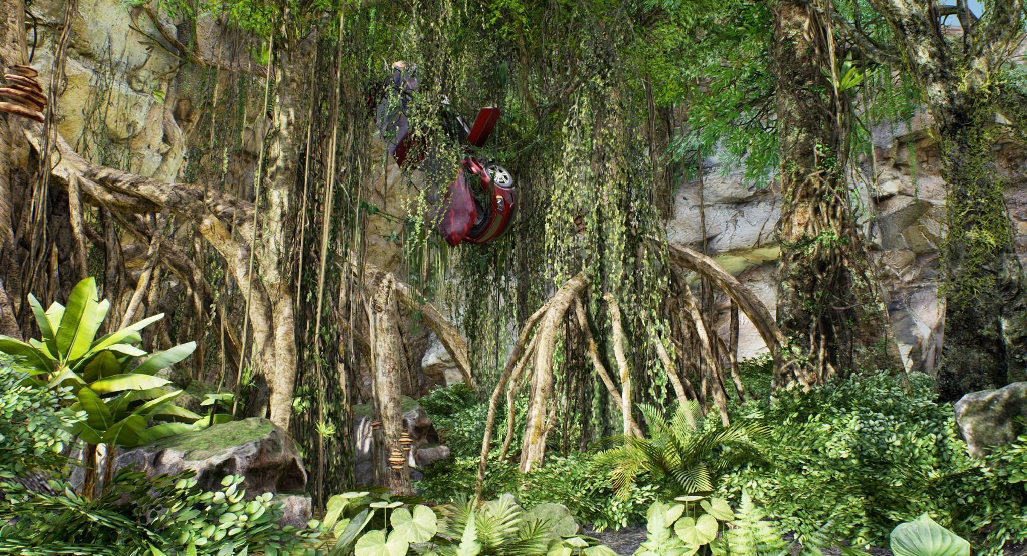 Авария в лесу - AQP City 2K