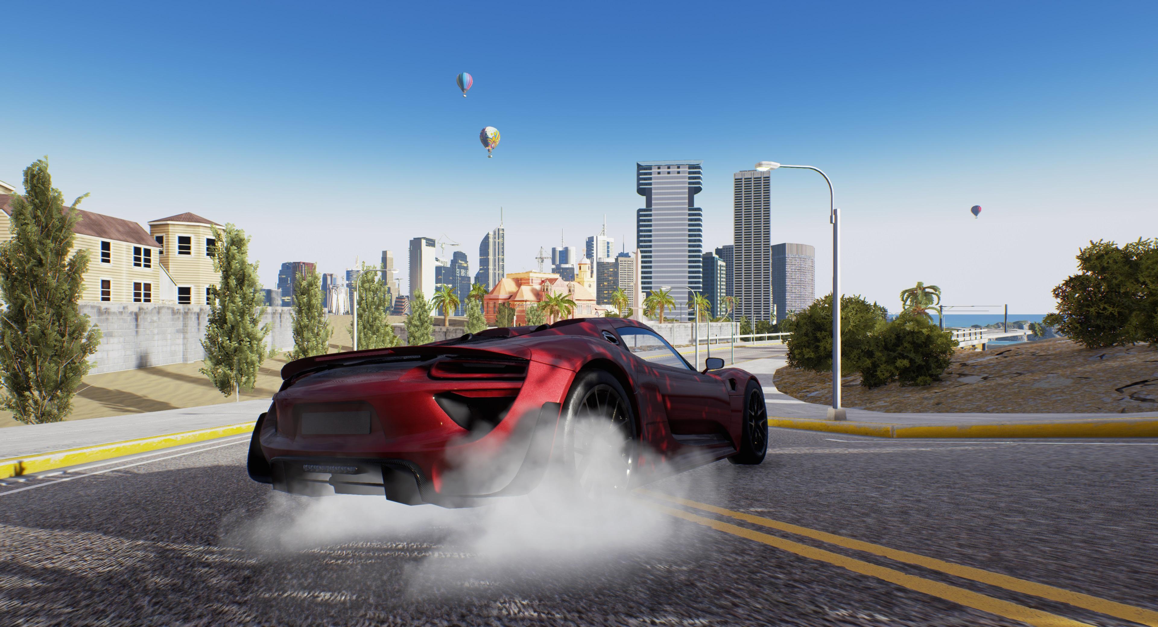 Дрифт - AQP City 4K, Скриншот