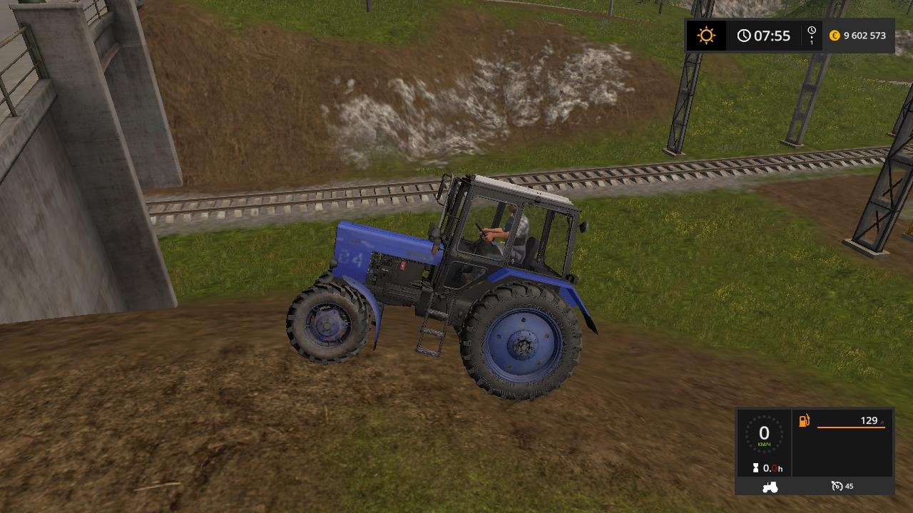 МТЗ 82 v 2.0 - Farming Simulator 17 Мод, Транспорт
