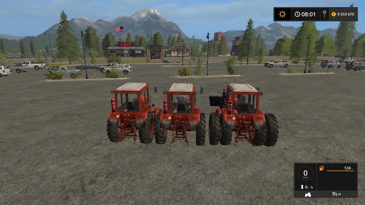 MTZ 80 AND 82 V1.3 - Farming Simulator 17 Мод, Транспорт