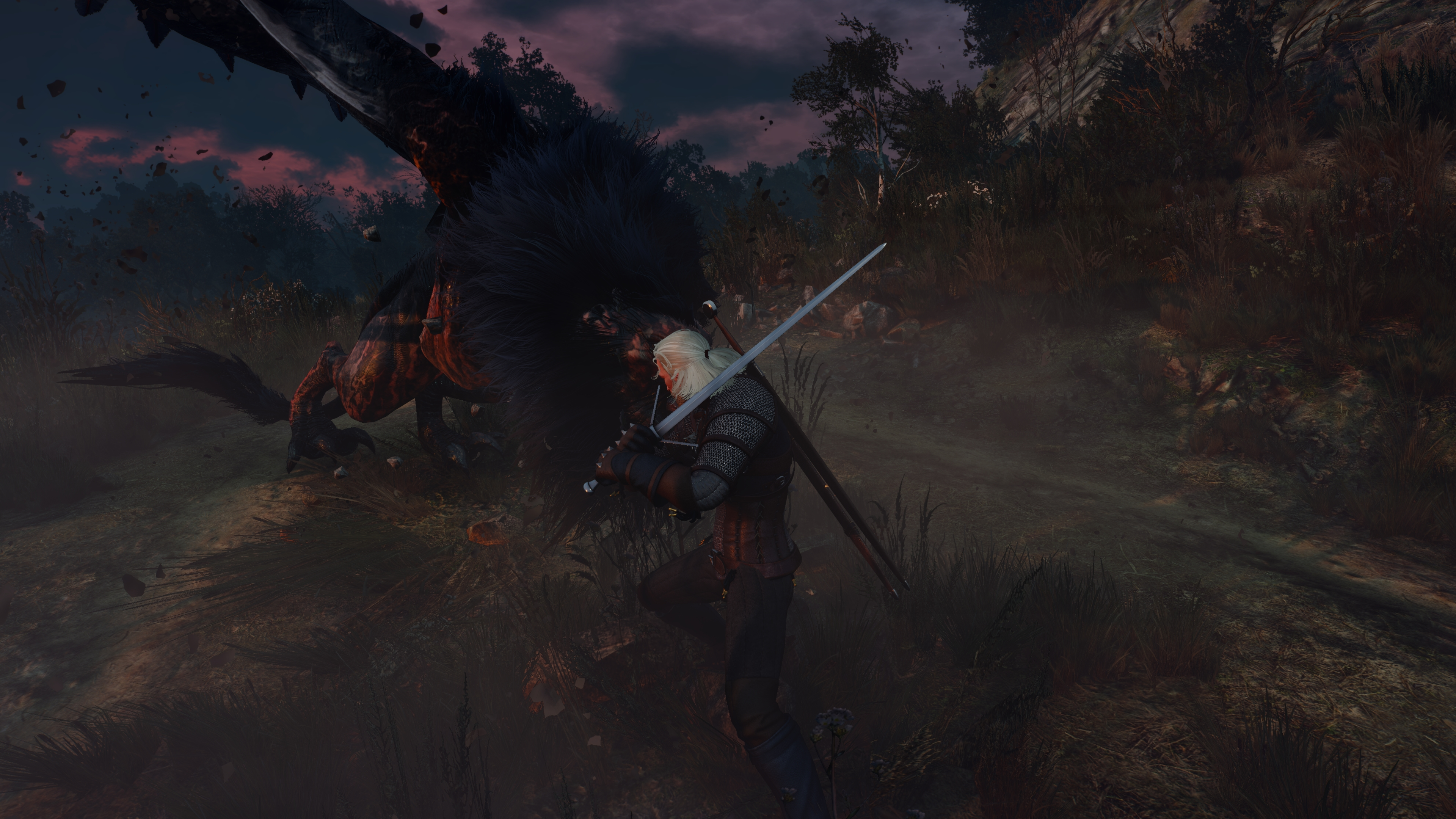 Геральт - Witcher 3: Wild Hunt, the Wild Hunt